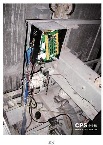 加装的电梯ic卡系统,不仅修改了电梯的操纵箱接线