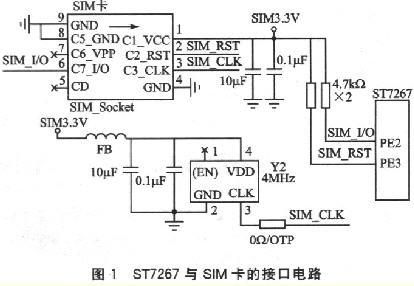 st7267与sim卡接口电路